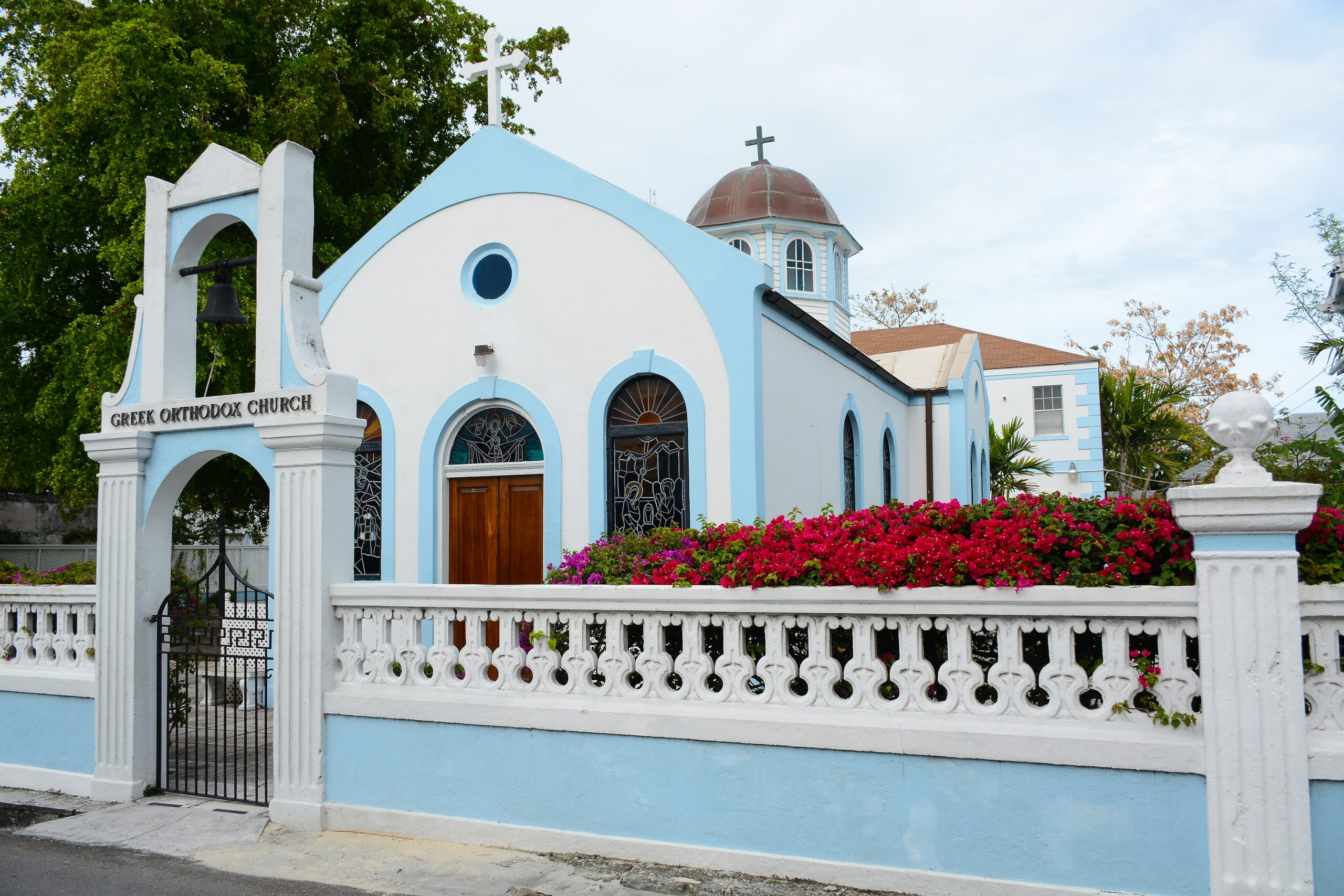 haint blue Bahamas colour interior design