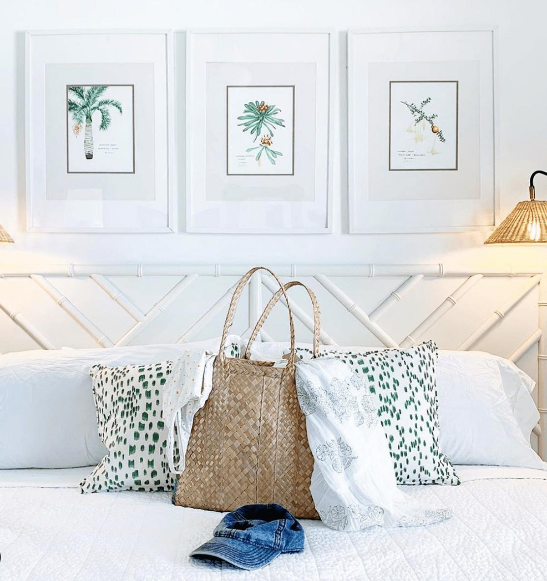 modern whites Bahamian interior design
